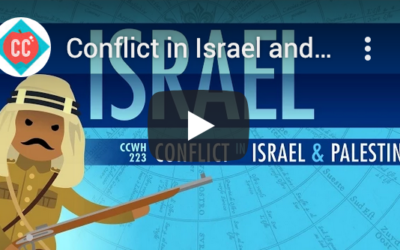 Crash Course: the Israeli-Palestinian conflict in 12′